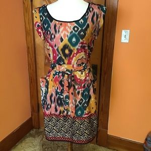 Angie Rasta woman vibrations hippie chic dress